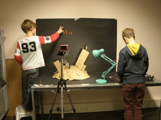 Stop Motion Set up